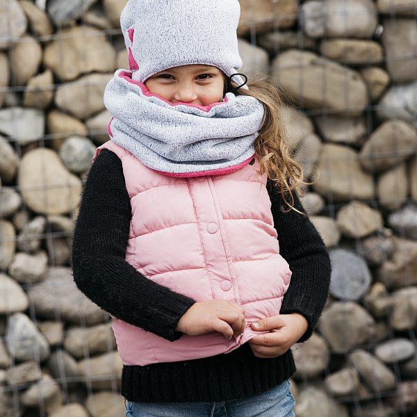 Tuque, cache cou hiver fille_Créations Zö 2017-18